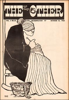 The East Village Other 1968 vol3 #46 by #Vaughn_Bode #underground_comics