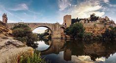 Reflejos del puente | Puente de Alcántara