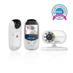 Motorola MBP27T Digital Video and Thermometer Baby Monitor,Safety Products for Baby Kids monitoring,