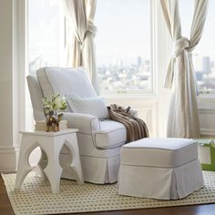 Custom Hayes Glider for Baby Nursery or Kids Room | Serena & Lily