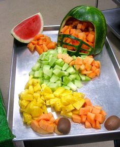 Another awesome fruit football player created by the creative Child Nutrition professionals in Provo, Utah.