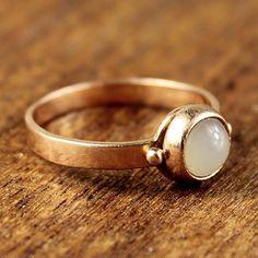 Brooke Vintage #Moonstone Ring circa 1940
