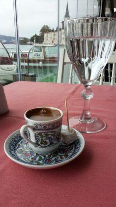 Türk kahvesi - Kuleli Yakamoz