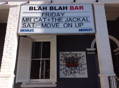 Situated near More Quarters, Blah Blah Bar is highly recommended for those who want to experience Cape Town's nightlife. A performance and party bar, this characteristic hotspot is devoted to rhythm & style.   #CapeTown #MoreQuarters