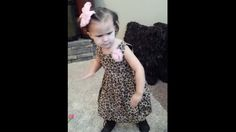 'Do you hear that bass, Mom?' Check out this adorable dancing girl!