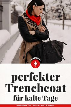 Burberry Trenchcoat, German Fashion, Winter Mode, Love Fashion, Fashion Trends, Girl Boss, Mantel, Outfit Of The Day, Fendi