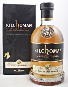 kilchoman single malt scotch whisky sherry cask release 46% 70cl