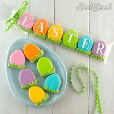 Mini Easter Cookies by Semi Sweet Designs