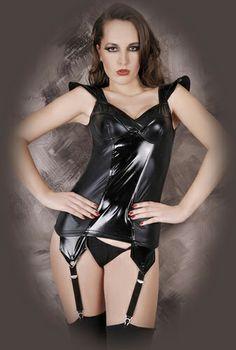Sorprende a tu pareja con este provocativo conjunto con liguero incorporado http://www.sensacionesloveshop.com/producto/vestido-con-liguero-s