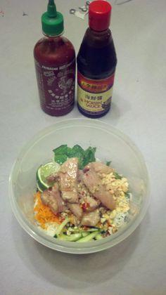 Homemade Vietnamese Pork Vermicelli