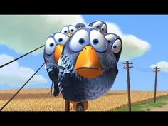 For The Birds by Pixar - YouTube.  Great for teaching inferencing.