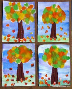 Maestra Caterina: Autunno: gli alberi del nostro giardino...