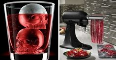 A set of twisted glasses perf for sipping and staring into the abyss. | 26 Dark AF Kitchen Products To Match Your Soul