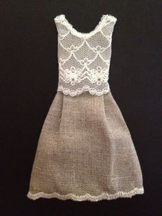 365 Dresses: Dress #83 Linen and Lace