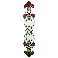 Hanover Rose - Stained Glass Window Cling
