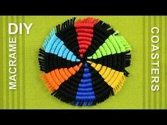 How to Make a Round Coasters / DIY Tutorial