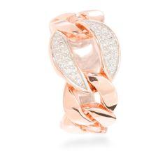 Griwa Ring Silver White Zircon #LuxenterJoyas #LuxenterTimeToShine
