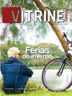 Capa da Revista Vitrine Oeste 1º Ano - Edição 03