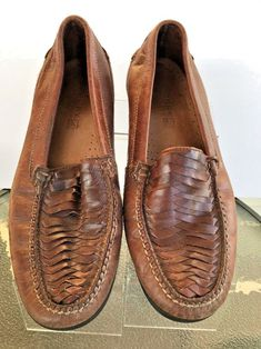 5ff3b96c398 Sperry Top Sider Tremont Woven Mens Loafer Style Shoes Sz 11.5 Brown Slip  On  SperryTopSider