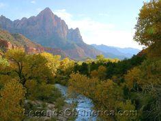 Zion National Park - River