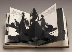 Kara Walker - Freedom, a Fable is an illustrated artist's book with text and pop-up silhouettes. At first glance it appears to be a nineteenth-century children's book, but it is decidedly not. It tells the story of a female slave whose life after emancipation veers far from her dreams of meritocracy, revealing that Freedom, a Fable is not just the title of the work but is also the lesson to be learned.