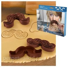 Munchstaches cookie cutters products-i-love