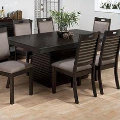 Amazing Jofran Rectangle Dining Table With Extension Leaf In Sensei Oak U003eu003eu003e Read  More At