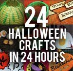 If you wondering how to get all your halloween crafts in, here's an idea! I challenge you!