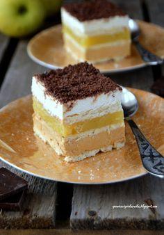 Opowieści z piekarnika: Krówka jabłkowa ( bez pieczenia ) Cake Recipes, Dessert Recipes, Different Cakes, Salty Cake, Savoury Cake, Homemade Cakes, Sweet Desserts, Clean Eating Snacks, Chocolate Recipes