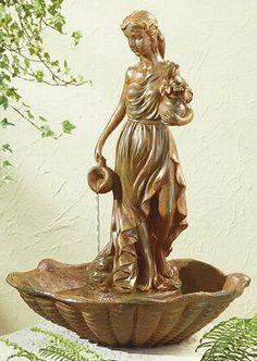Cherub Water Fountain | Tabletop Fountains | Pinterest | Water Fountains,  Water And Cherub