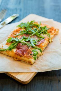 Farinata - Pizza Salami Picante