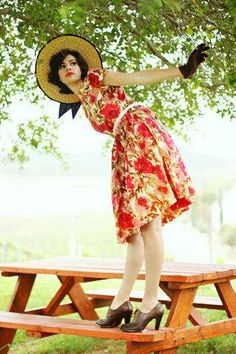 Adorable in floral. #stylegallery