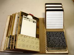 Muddy Footprints: Timeless Stack DCWV Vertical Paperbag Mini Album
