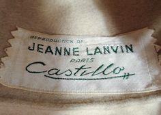 Jeanne Lanvin Beige Felted Fur Bucket Hat, Turban, 1960s
