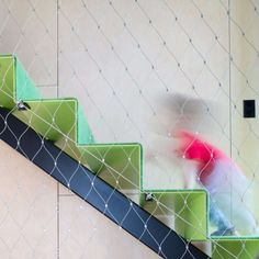 Architeam - OOF! architecture #fallbarrier #stainlesssteel #mesh