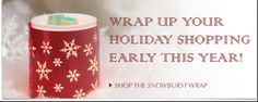 Change the look of your sillohette wax warmer, with a holiday wrap.  To buy visit: https://beautifulscentsfoylesite.scentsy.co.uk