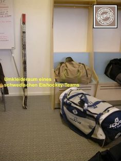In den Umkleideräumen der Eishockey-Spieler macht der Sportbelag Multisport einen guten Eindruck