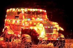 Jeep Navideño