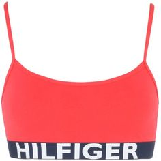 64646e17fb Tommy Hilfiger Bra (£19) ❤ liked on Polyvore featuring bra s