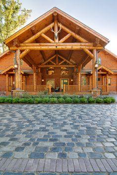 Log Homes, Log Cabins, Custom Designed - Timberhaven Log Homes - Log Home Gallery