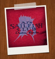 Sailfish Front Logo Brick Red