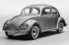 VW Bug Volkswagen Beetle: production car number 1000.000