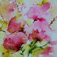 Petit format 15 - Painting,  20x20 cm ©2012 by Véronique Piaser-Moyen -  Painting