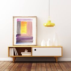 Minimalist Large Abstract Painting Interior Design Art Giclee Print Watercolor Painting by AcrylicVSWatercolor Watercolor Paintings Abstract, Watercolor Print, Painting Prints, Interior Paint, Interior Design, Large Abstract Wall Art, Giclee Print, Design Art, Minimalist