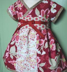 Kyoko style dress in Berry Joel Dewberry by emaleighscupboard, $40.00
