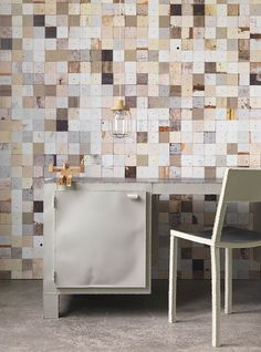 Dutch company NLXL has added new designs to their Scrapwood Wallpaper collection…