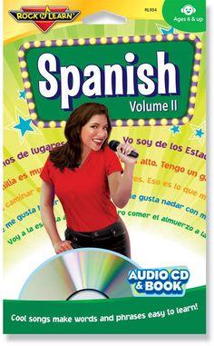 Spanish Volume II (audio & book)