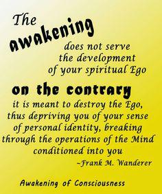 The Power of Consciousness: The Awakening