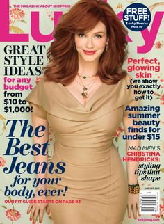 How hard would it be for me to become a redhead? Christina Hendricks via @LuckyMag