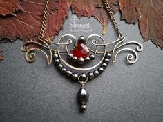 "Pendant ""The Dark Muse""   by Strangell"